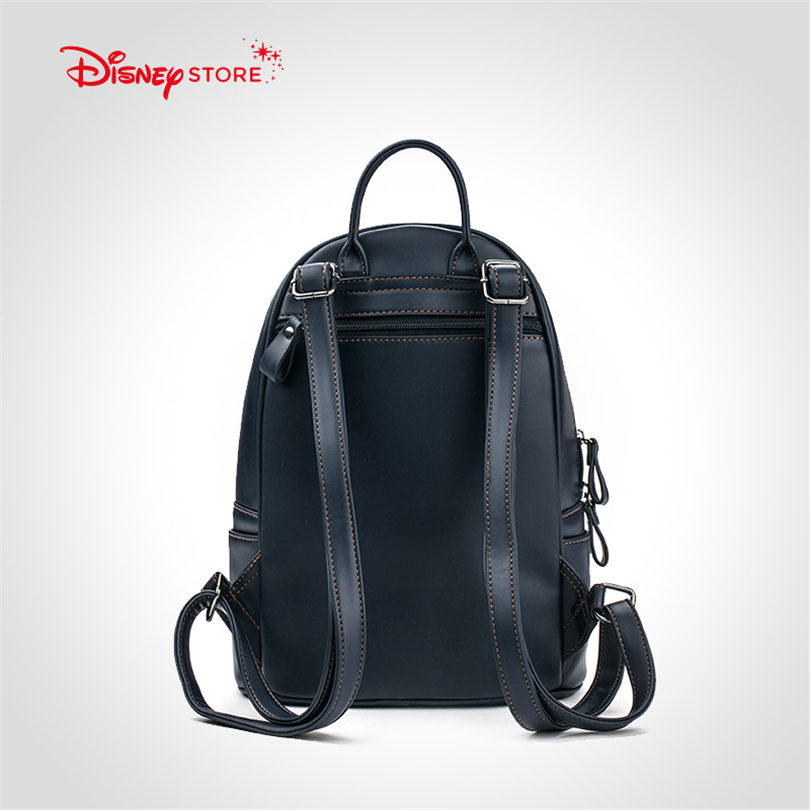 9c45e17a43fe Disney Mickey Mouse Women s Backpack Brand Fashion High Quality PU Leather  Schoolbag Bags for Teenager Girl Student Bag A249-in Backpacks from Luggage  ...