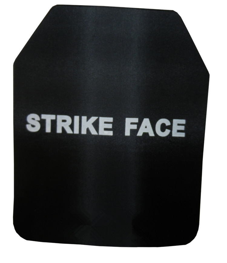 2pcs NIJ IIIA Steel Alloy Bulletproof Vest Ballistic Plate With NIJ Standard Level