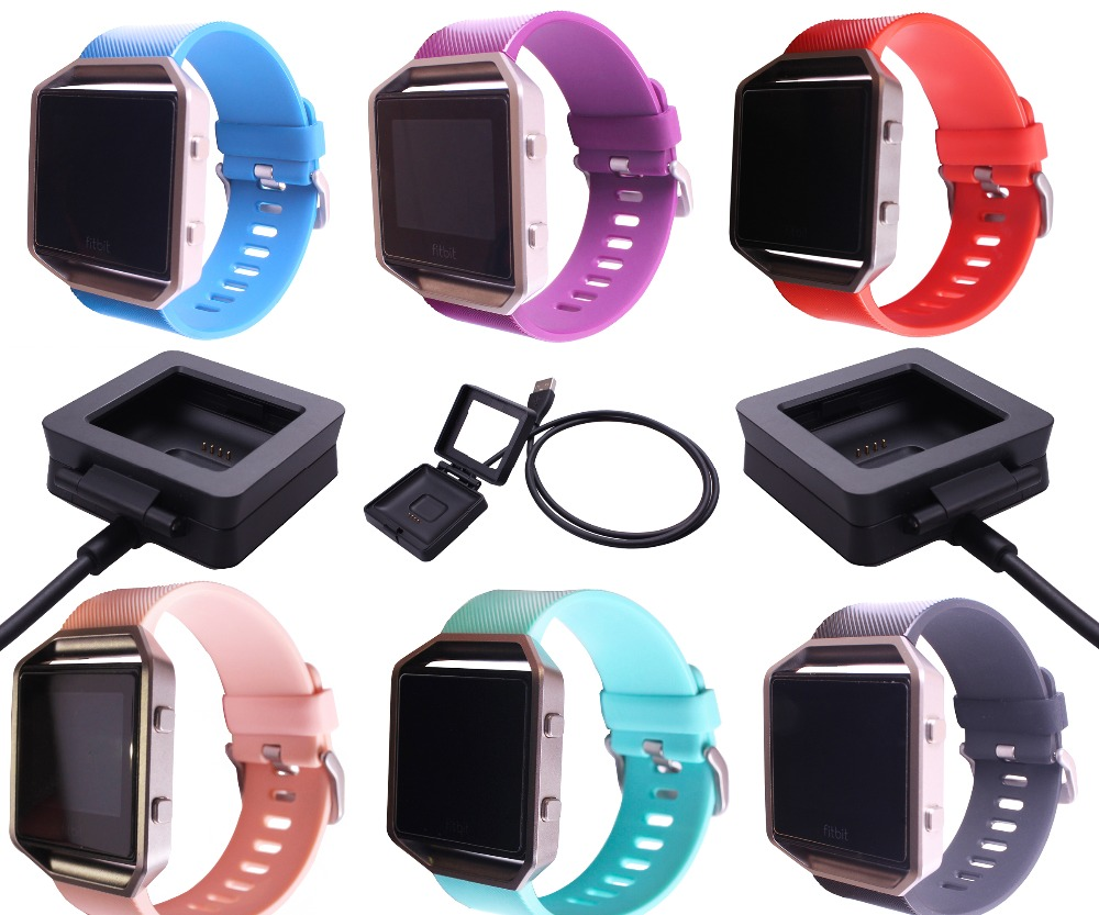 For Fitbit Blaze Classic Accessory Band Replacement Classic TPU Wrist Watch Band Small l ...
