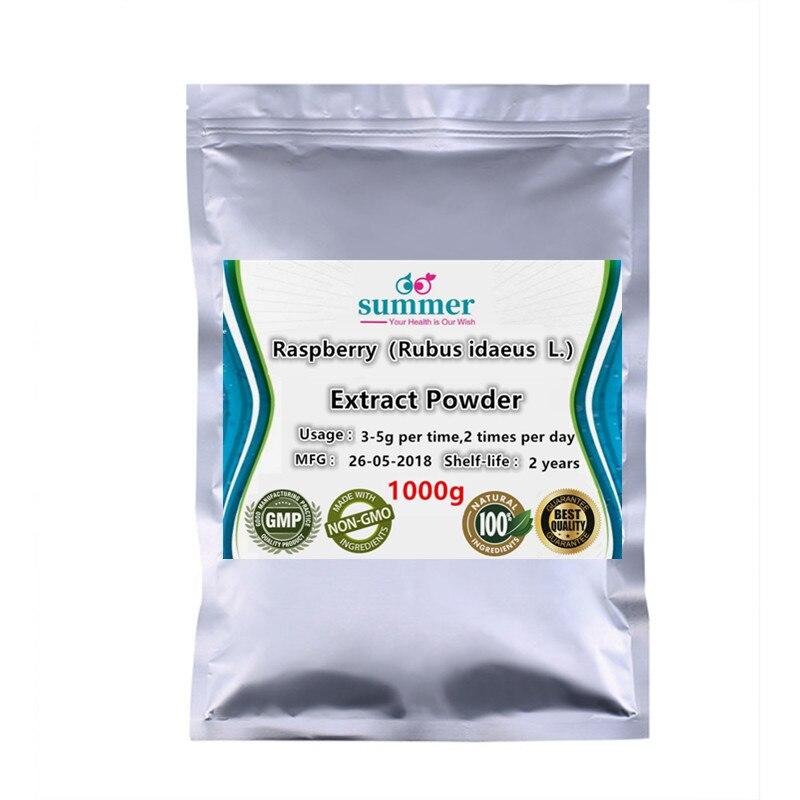 1000g Natural fructus rubi Raspberry powder Rubus idaeus extract powder for itamin A vitamin C calcium