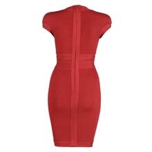 Newest Summer 2018 Celebrity Party Bandage Dress Women Sleeveless V-Neck Sexy Night Out Club Dress Women Bodycon Vestidos