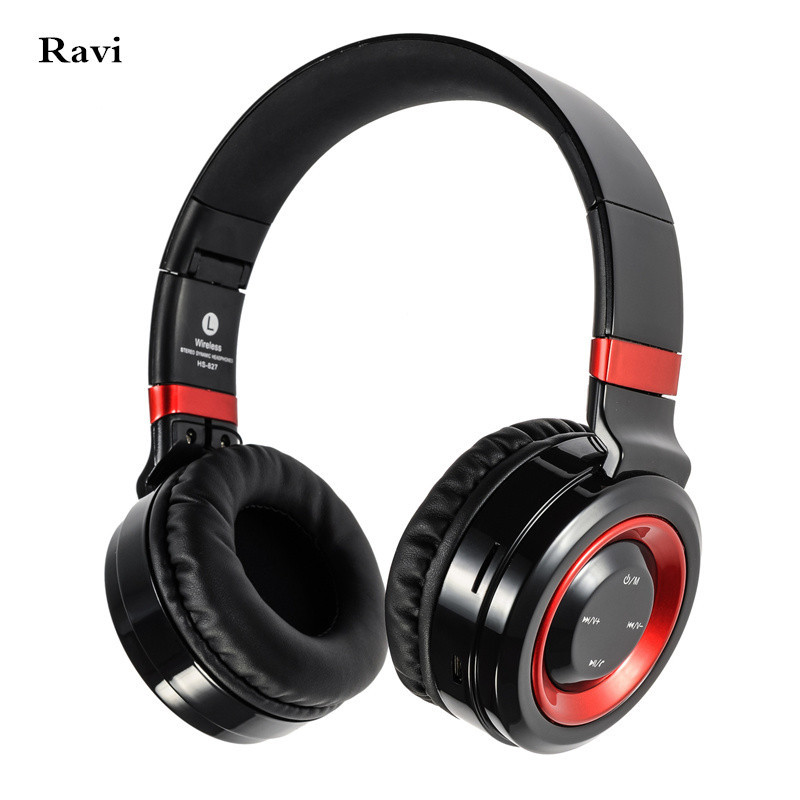 New high quality Bluetooth Headphone Support 32G TF Card FM Radio Wireless Headphones With Mic Headsets For Xiaomi iPhone PC MP3