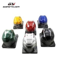 цена на 2019 Free shipping GY-PH9000 Ice hockey Mini helmet souvenir Mini helmet  Size 16*13*12.5 CM