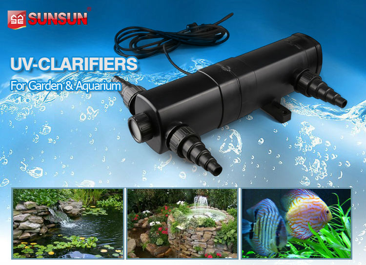 SUNSUN CUV series Aquarium and ponds UV lamp ultraviolet lamp green algae sterilizing lamp Bactericidal lamp