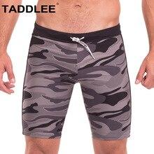 2c4d417ec9 Taddlee Brand Sexy Men's Swimwear Swimsuits Swim Boxer Briefs Trunks Surf Board  Shorts Camo Beach Boxer
