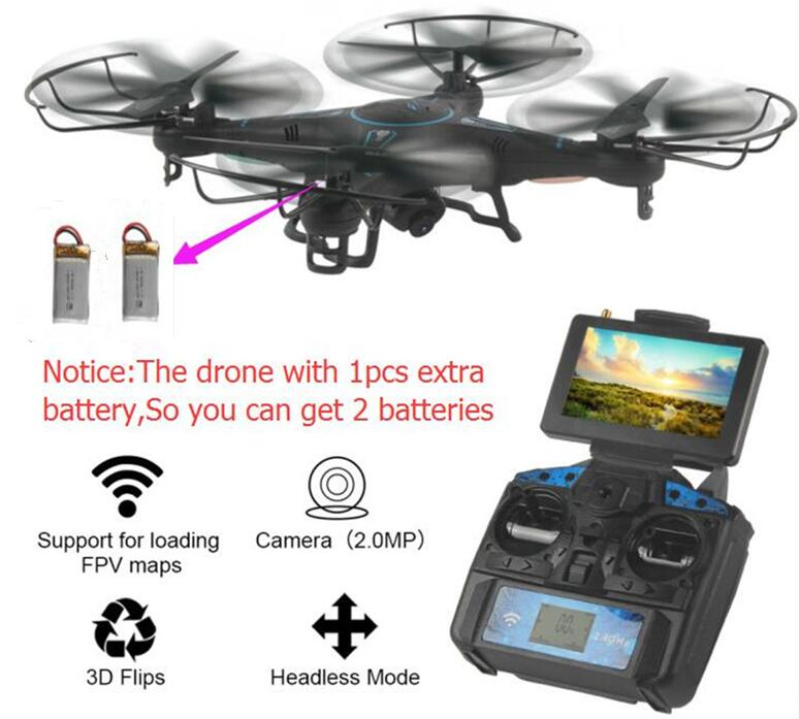 High Qaulity Helicopter WiFi 5.8G FPV Real-Time L-20 2.4G 4CH 6-axis Gyro RC Quadcopter With 2MP HD Camera rc drone toy best gif professional drone 2 4ghz 4ch 6 axis gyro rc quadcopter fpv with 30w hd camera wifi real time transmission compass mode drones