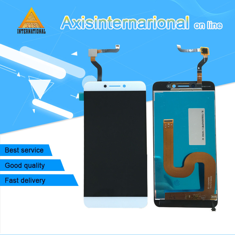 Axisinternational For Letv LeEco Coolpad cool1 cool 1 c106 LCD screen display+touch digitizer white/Gold free shipping