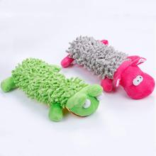 1 Pcs Pet Dog Funny Playing Toy Cat Lovely Voice Toys Sound Squeaky Plush Soft Cuddly Puppy