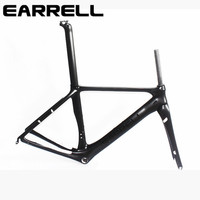 2017 EARRELL Carbon Bike Frame 700C Bicycle Carbon Road Frameset With Fork Accessories Brake Chinese Carbon