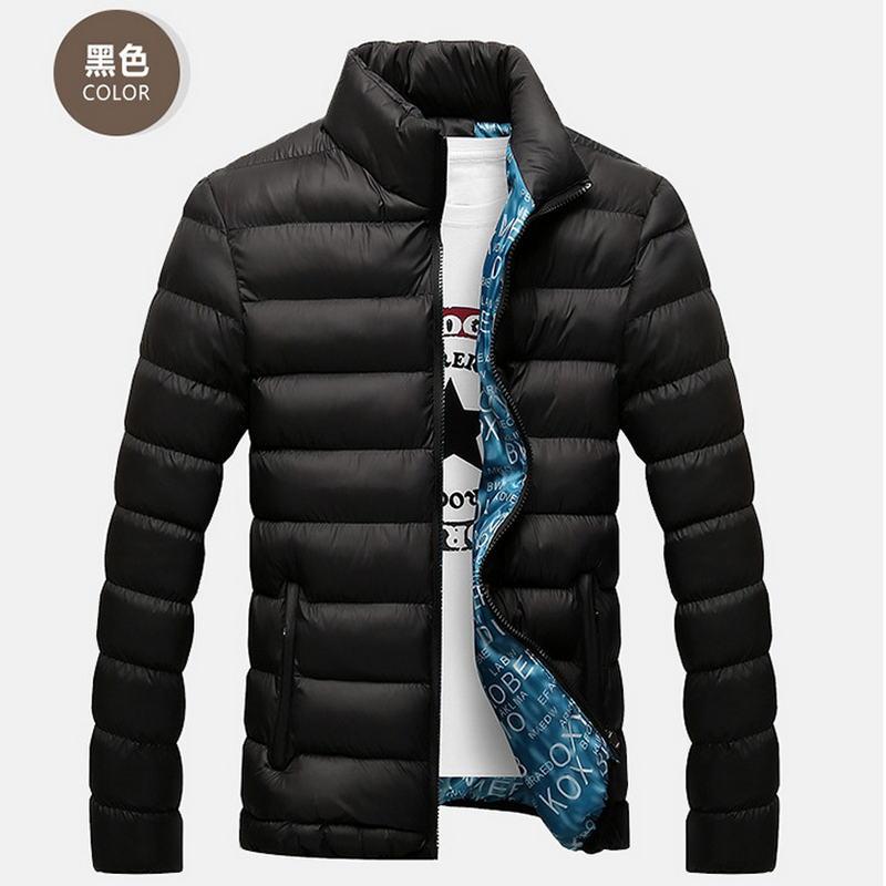 100% Wahr Winter Jacke Männer 2018 Mode Stehen Kragen Männlichen Parka Jacke Mens Solide Dickes Jacken Und Mäntel Mann Winter Parkas M-6xl