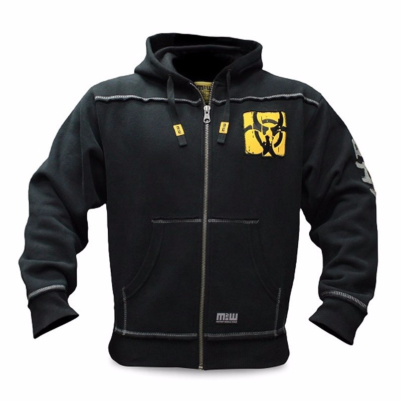 Image 2 - Mutant Winter  Fitness Men Gyms Hoodies Sweatshirt Bodybuilding Hoody Zipper Casual Sweatshirt Men's Slim Fit Hooded Jacket-in Hoodies & Sweatshirts from Men's Clothing