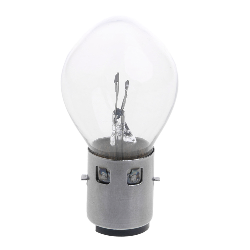 High Brightness 12V 25W  B35 BA20D  Motorcycle Headlight Bulb For ATV Moped Scooter Glass