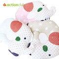Kawaii Baby Pillow Bedding Infantil Nursing Shaping Pillow Newborn Neck Protection Cartoon Pillow For Baby AntiRoll Foam Posites