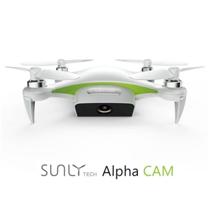 SUNLY TECH Alpha CAM WiFi FPV With 4K HD Camera GPS Mini RC Quadcopter jjr c jjrc h43wh h43 selfie elfie wifi fpv with hd camera altitude hold headless mode foldable arm rc quadcopter drone h37 mini