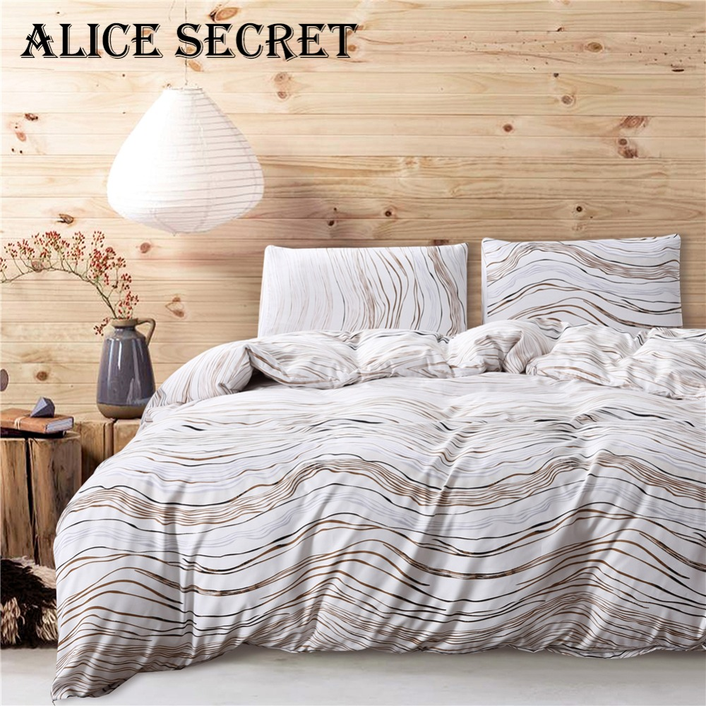 New Waved Design USA duvet cover set US UK King Queen 3pcs/set modern bedding quilt covers bed set Hotel Decor Duver clothes