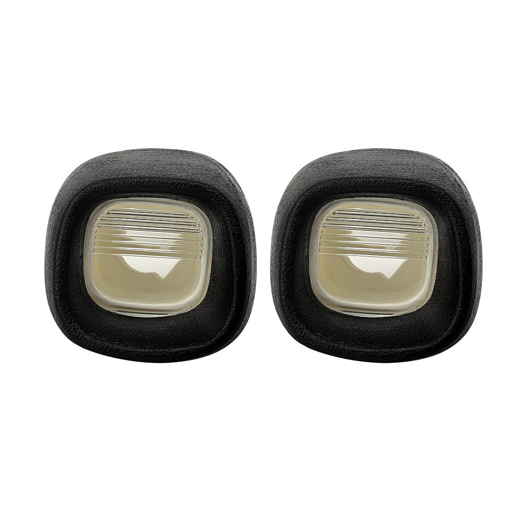 License Plate Light Rear Lamp Lens for Blazer S10 Pickup Jimmy S-15 Sonoma Pack of 2
