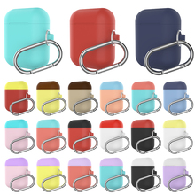 1PCS Silicone TPU Bluetooth Wireless Earphone Case Protective Cover Skin Accessories