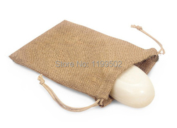 High quality jute linen flax drawstring jewelry bag for gift bracelet earings coffee bean nuts pouches.jpg 250x250