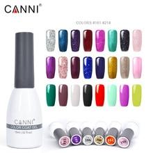 2019 CANNI soak off make up 15ml gel nail polish professional led uv lamp nail art color paint long lasting glitter lacquer