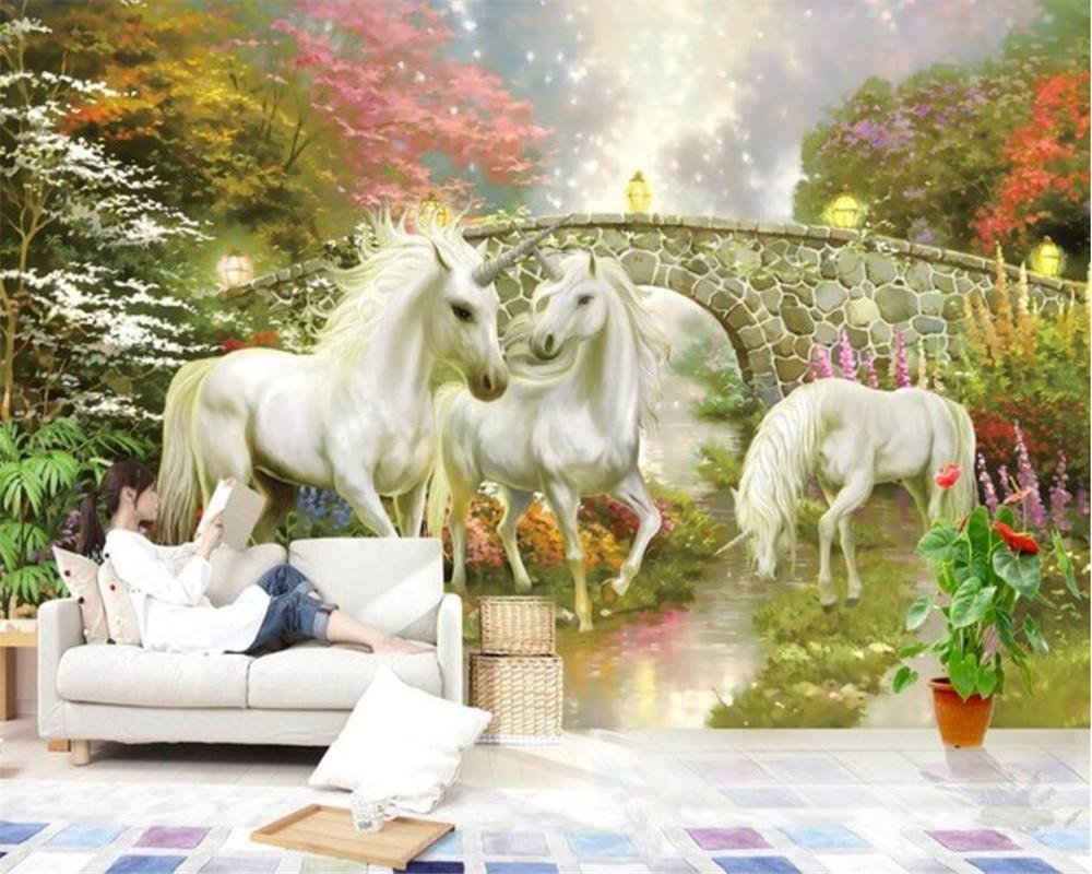 Must see Wallpaper Marble Unicorn - Beibehang-Custom-wallpaper-for-walls-3-d-Wonderland-Unicorn-TV-Living-room-bedroom-Background-Wall-wall  Photograph_943261.jpg