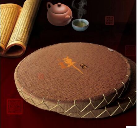 Coussin de siège futon tatami style japonais Naural ronde cérémonie du thé Zen sol baie fenêtre tapis