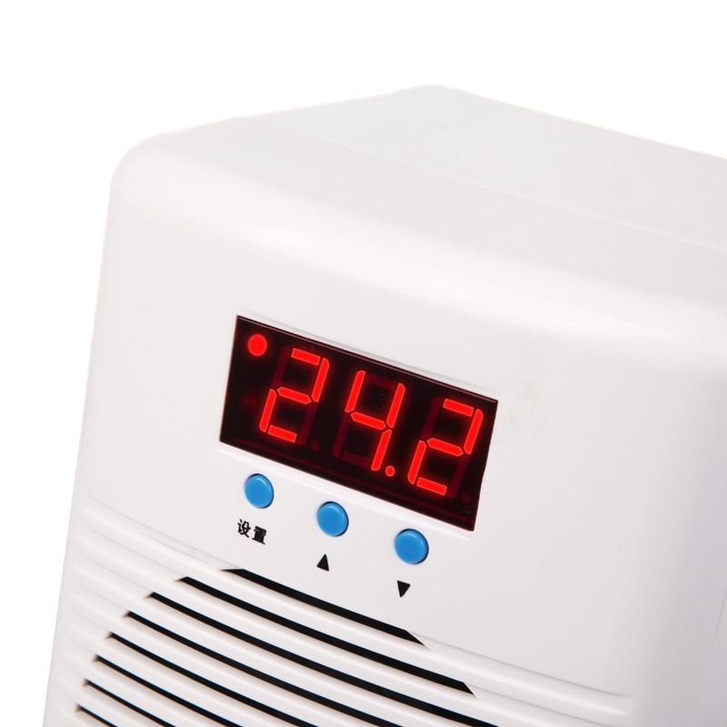100 W 110 240 v Aquarium Water Chiller Warmer & Cooler Temperatuur Conditioner Voor Aquarium Koraalrif Garnalen Tank Hieronder 30L - 4