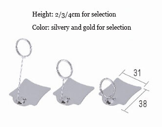 20 pcs small size POP metal label holder clip sign tag price ticket card holder stand 2 5 18cm pop price card advertising tag clip label holder adjustable clear plastic sign holder