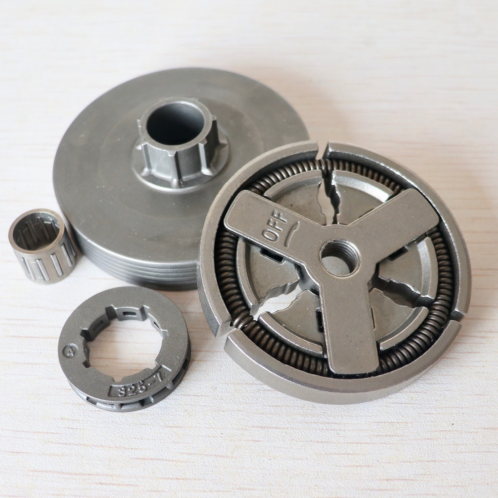 Clutch Drum & Clutch & Sprocket Rim & Needle Bearing Fit For Chinese Chainsaw 4500 5200 5800