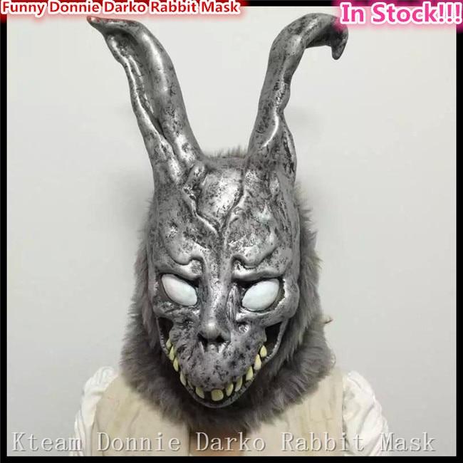 할로윈 파티 코스프레 동물 풀 헤드 카니발 마스크 Scary Donnie Darko 토끼 마스크 Horror Ghost Rabbit 좀비 마스크 재고 있음