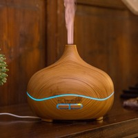 Compact Size Essential 300ML Oil Diffuser Air Humidifier Aroma Lamp Aromatherapy Electric Mist Maker For Home
