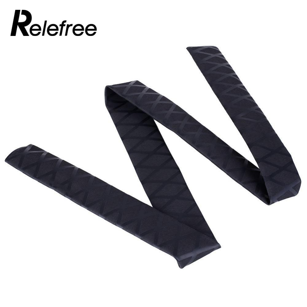 Relefree 1m Non Slip X Wrap Textured Heat Shrink Tube Fishing Rod Racket Sleeving Handle