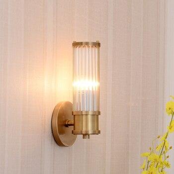 Postmodern Led oda aksesuarları destek duvar lambası cam şerit ışık tasarımcısı kişilik oturma odası duvar lambası ZP427115