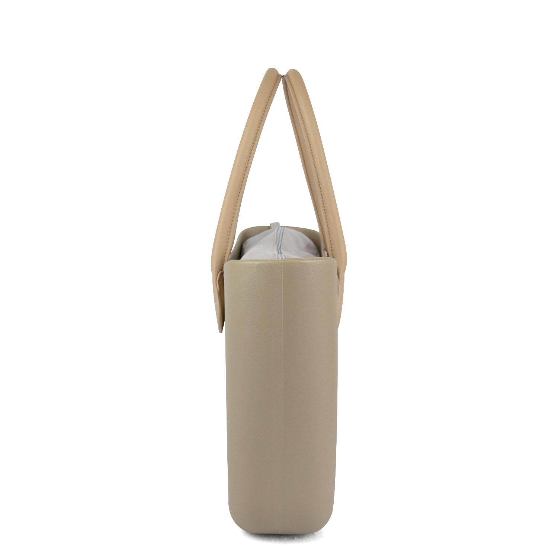 2018 新 tanqu クラシック EVA バッグと挿入インナーポケットカラフルなハンドル EVA シリコンゴム防水女性ハンドバッグ Obag スタイル  グループ上の スーツケース & バッグ からの トップハンドルバッグ の中 3
