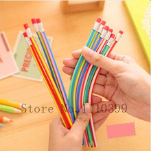 Eraser Soft-Pencil Bendy Lapis-De-Cor Writing-Gift Magic Colorful Flexible Kids