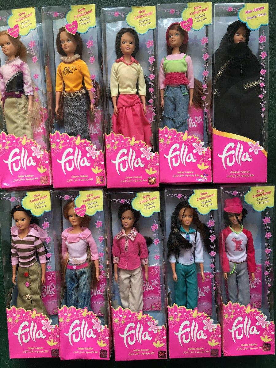 Original 24cm Fulla Doll Beautiful girl Basic Fashion Doll Concert Collection original winx club bloom musa beautiful girl magiche fan doll collection toys