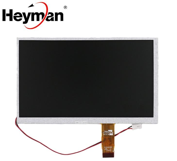 Heyman-pantalla LCD para coche, 7 pulgadas, 26 Pines, AT070TN07, V.D, VA, V.B, 165x100, 4 cables, pantalla táctil resistente, DVD, LCD