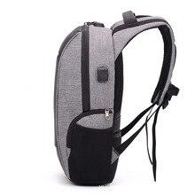Купить с кэшбэком Female Men Backpacks Anti theft Coded Lock Oxford Casual Laptop Backpack With USB Charge Waterproof Travel Bags Computer Bag
