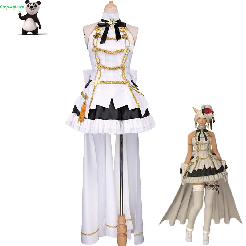 Final Fantasy XIV Little Ladies' Day Idols Female Cosplay Costume For Halloween Christmas CosplayLove