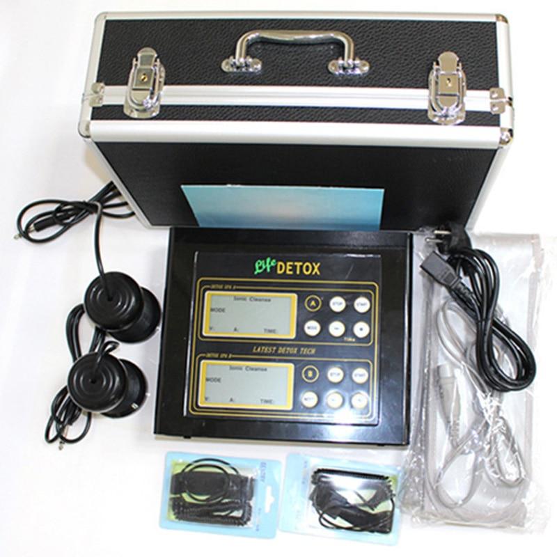 Dual user Detox Machine Ion Cleanse Ionic Detox Foot Bath Aqua Cell Spa Machine Footbath Far
