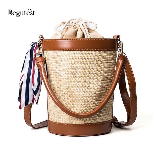 Begutest Женская Crossbody сумки сумка женская сумка черный Crossbody сумки для 2017, женская обувь Соломенная Сумка летние женские сумки