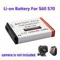 100% Оригинал 1050 мАч Резервное Копирование Аккумуляторная Батарея льва Для SOOCOO S60 S70 Камера Спорта DV Бесплатная Доставка!