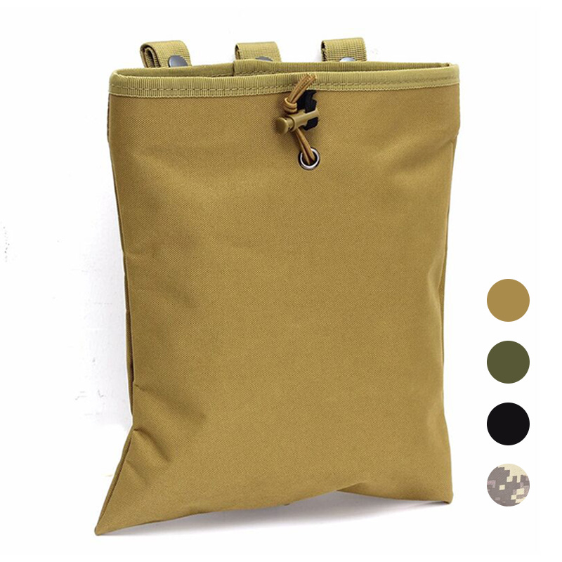 Tactical Dump Drop Pouch Magazine Pouch Military Hunting Airsoft Gun Accessories Sundries Pouch Protable Molle Recovery Ammo Bag
