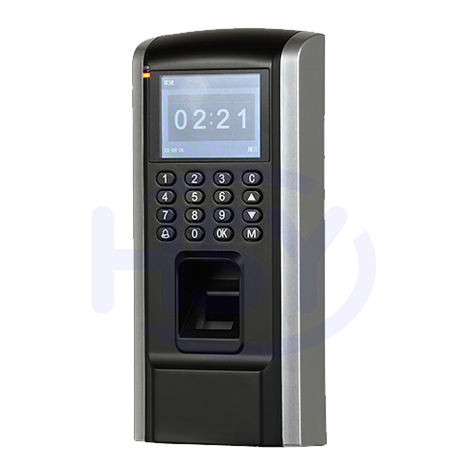 Hsy Biometric Fingerprint Access Control System Rfid Card Keypad Wiring Diagram And Time Attendance