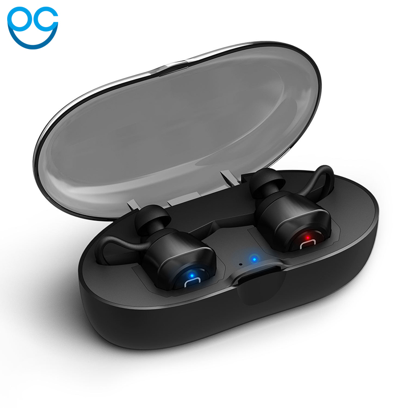 OGV TWS bluetooth earphone true wireless earbuds with Charger Box Built-in Mic APTX Stereo Sports mini bluetooth headset