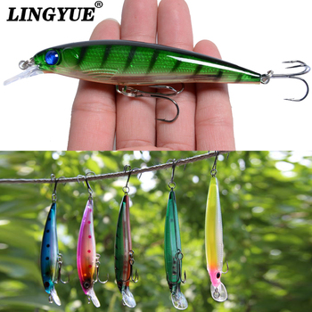 1PCS Sinking Minnow Fishing Lure Laser Hard Artificial Bait 3D Eyes 11cm 13 4g Fishing Wobblers