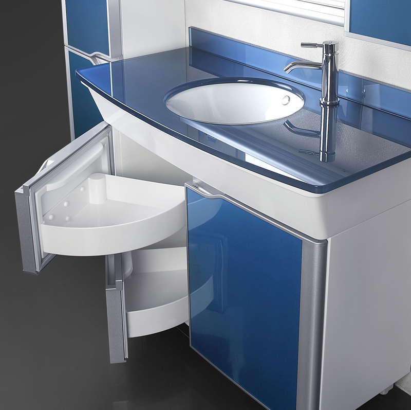 Okal European Washbasin Cabinet Bathroom Cabinet Bathroom Cabinet Floor  Combination Refrigerator Style Vanity Basin Basin Cabin In Bar Stools From  Furniture ...