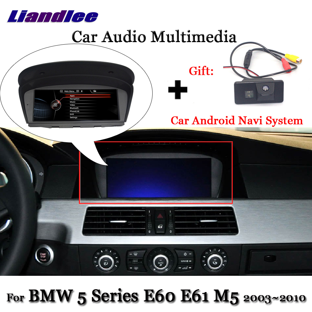 Liandlee Android For BMW 5 Series E60 E61 M5 2003~2010 Stereo WIFI Radio TV Carplay Camera BT AUX GPS Navi Navigation Multimedia 2gb 32gb 8 8 android 7 1 car dvd player for bmw series 5 e60 e61 e62 gps navi idrive wifi bluetooth radio rds free camera map