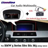 Liandlee Android For BMW 5 Series E60 E61 M5 2003~2010 Stereo WIFI Radio TV Carplay Camera BT AUX GPS Navi Navigation Multimedia
