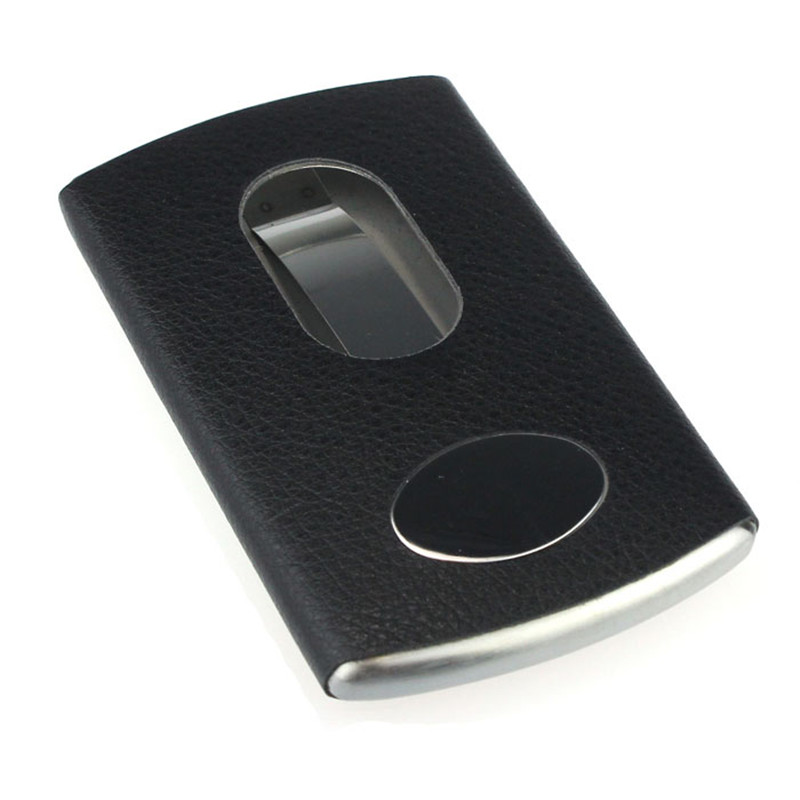 New Thumb Slide Out Stainless Steel Pocket Business Credit Card Holder Case Lucky business card holder women vogue thumb slide out stainless steel pocket id credit card holder case men