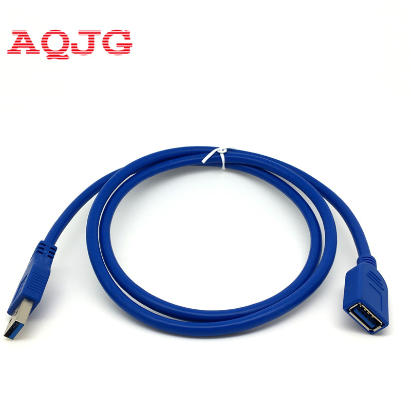 3Ft USB 3.0 Type A Male to Female Extension Extender Cable Cord Adapter 1m 1.5m 3m For computer laptop AQJG unitek y c414 usb 3 0 type a male to female extender flat cable blue 1 5m